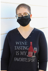 Distinct Distinct Favorite Sport Wine Tee