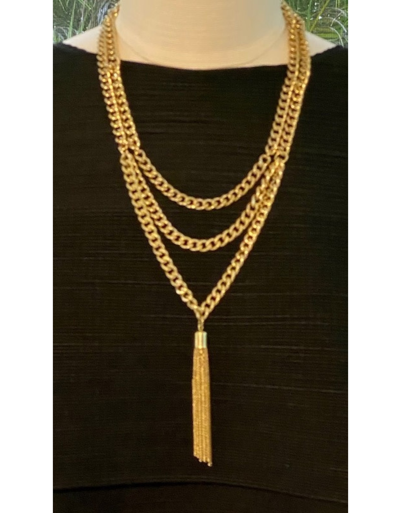 Karin Sultan Karin Sultan: Long with Tassel Gold