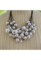 Deborah Grivas Design Jill Pearl with Black Cord