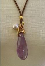 Velatti Jewelry Design VCExclusives: Gold Leaf, Amethyst