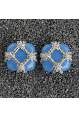 VC Italy VCExclusives: Zinnia Silver & Light Blue