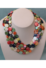 Sea Lily VCExclusives: Chimes Glass Beads Multi Earth Tones