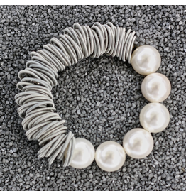 Sea Lily VCExclusives: Pearls With Silver Wire