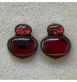 Jean Louis Blinn Blinn: Ruby & Bronze Confetti