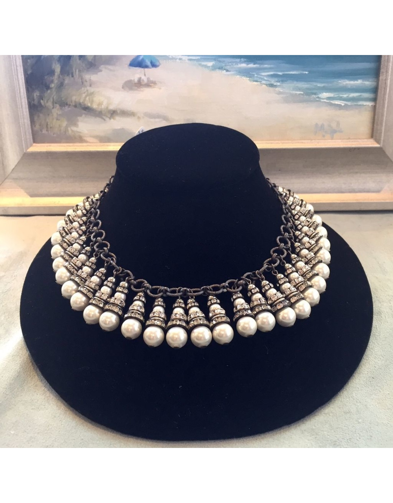 Francoise Montague FMontague: Cherie Droplets in Pearl