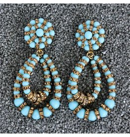 Francoise Montague FMontague: Lolita Turquoise and Gold