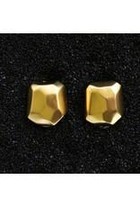 Kenneth Jay Lane KJLane: Hammered Gold Nugget