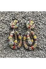 Francoise Montague FMontague: Lolita Pearl Loops w/Gold Details