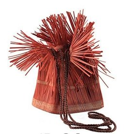 VC Accessories VCExclusives: It Is Copper Straw Bag