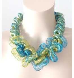 Nikaia Inc. VCExclusives: Volute Curly Lime and Aqua