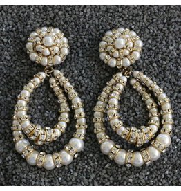 Francoise Montague FMontague: Lolita Pearl & Crystal Loops