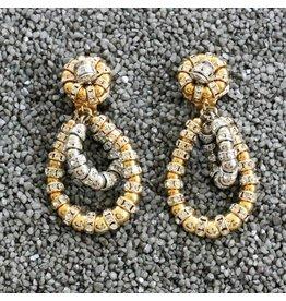 Francoise Montague FMontague: Lolita Gold Loops w/Silver Accents