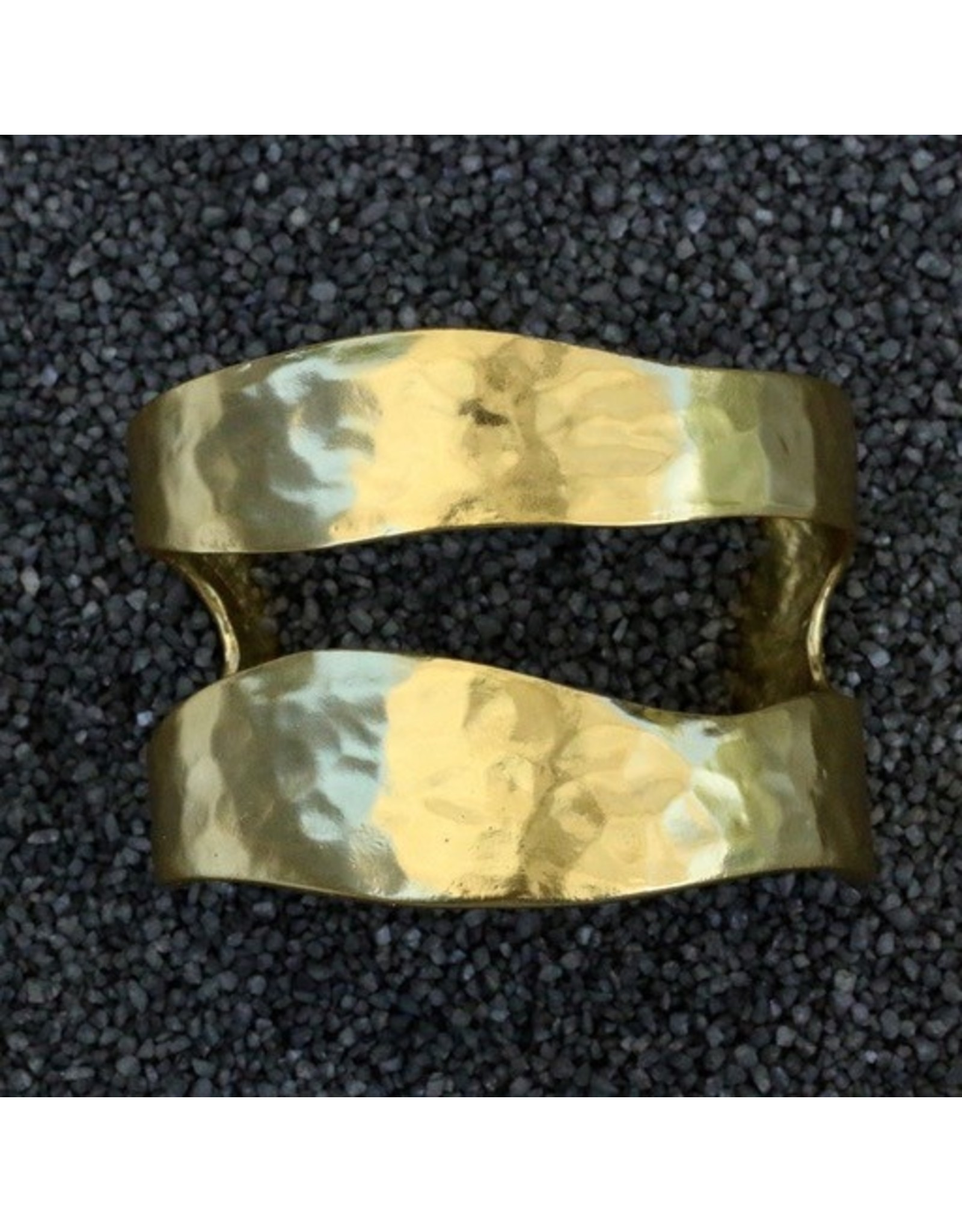 Karin Sultan KSultan: Free Form Gold Cuff