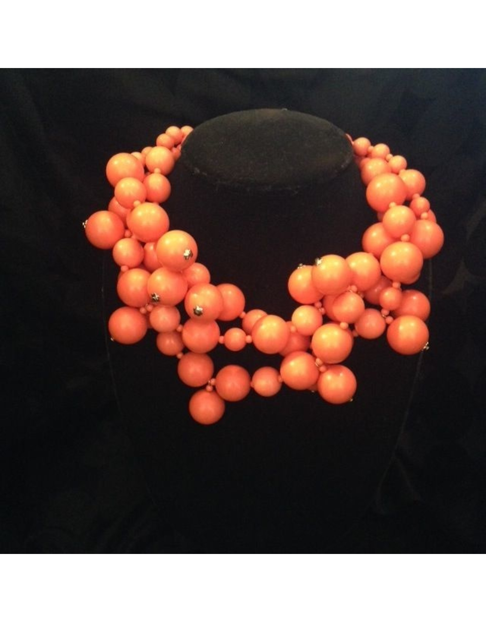 Kenneth Jay Lane KJLane: Clusters Coral