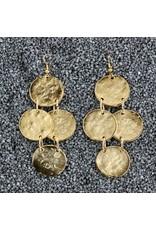 Kenneth Jay Lane KJLane: Gold Coin Drop