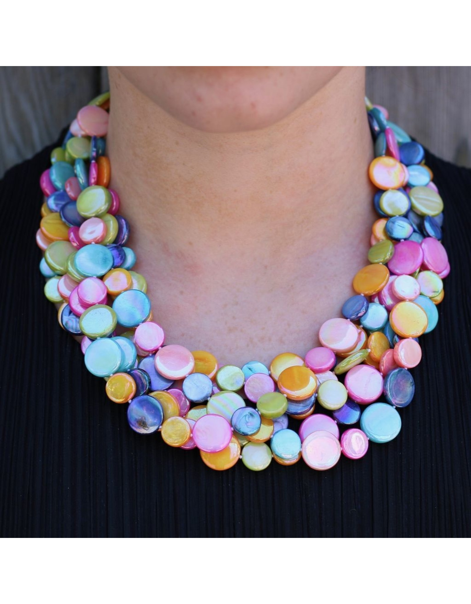 Sea Lily VCExclusives: Chimes Glass Beads Multi Colored Bright