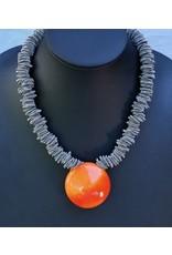 Nikaia Inc. VCExclusives: Maratea Orange with Silver Wire