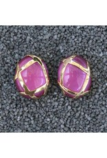 VC Italy VCExclusives: Oval Pink with Gold