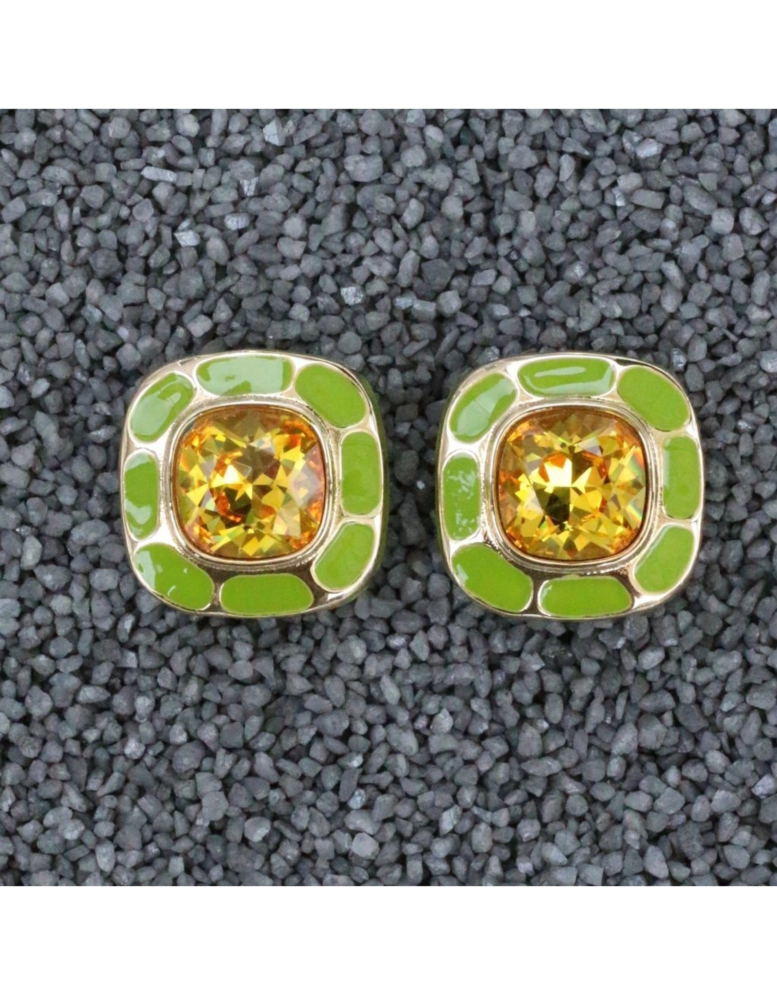 VC Italy VCExclusives: Square in Square Topaz & Green