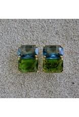 Jardin Jardin: Blue & Green Double Stack