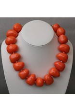 Kenneth Jay Lane KJLane: Pebbles Coral