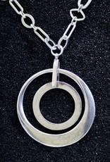 Karin Sultan Karin Sultan: Two Circles in Silver