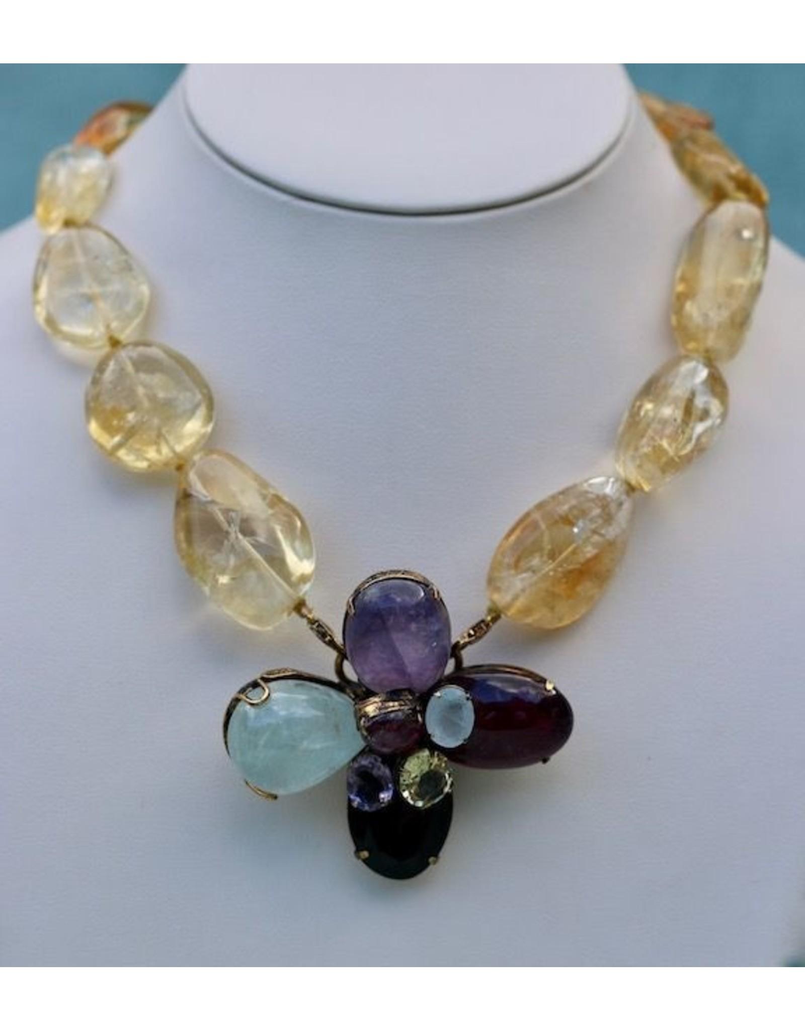 Iradj Moini Couture Iradj: Semi Precious Stones Unique