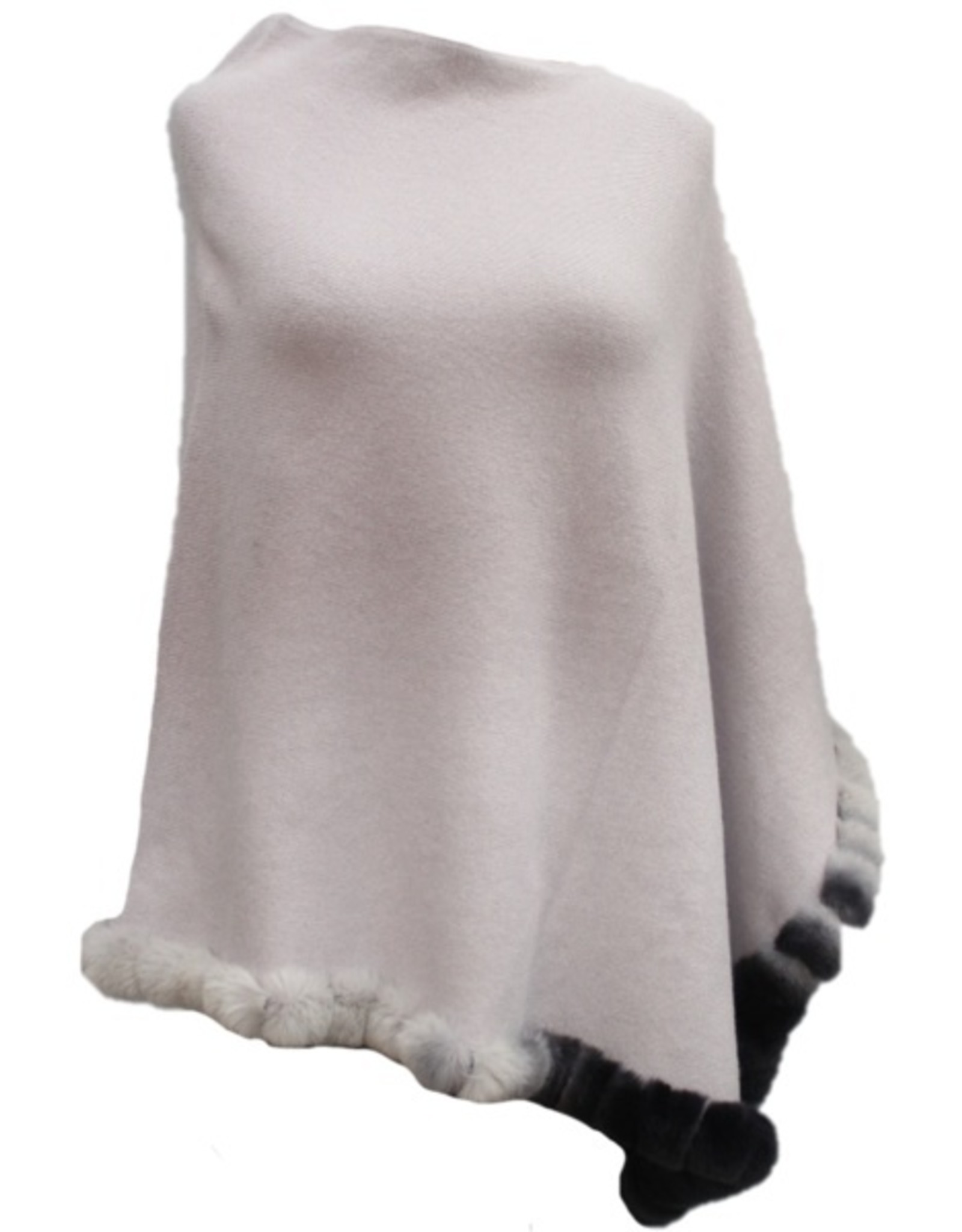 La Fiorentina VCExclusives/ Poncho Ombre with Fur