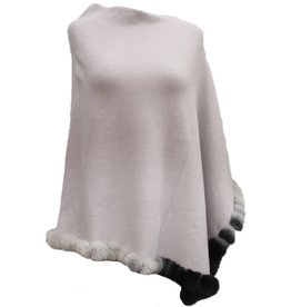 La Fiorentina VCExclusives/ Poncho Ombre with Fur