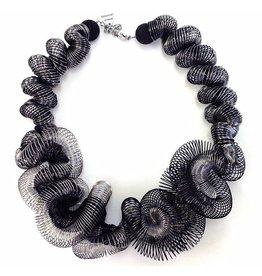 Nikaia Inc. Volute Silver and Black