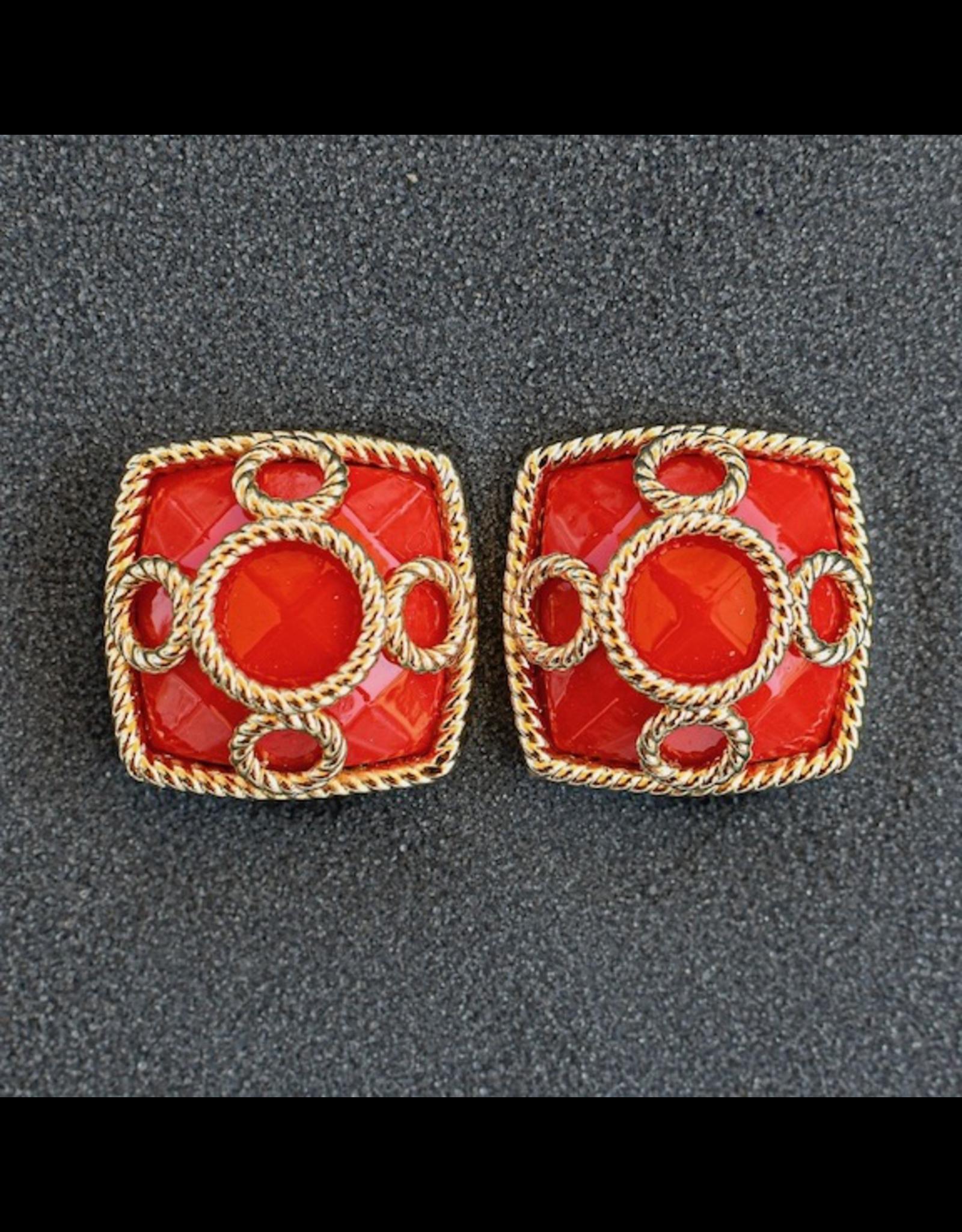 VC Italy Alice Clip Earrings