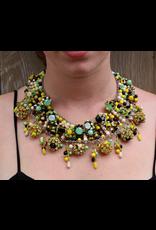 Francoise Montague FMontague: Dara Green Yellow Black