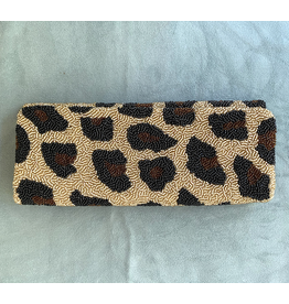 Tiana Designs VCExlusives: Beaded Clutch / Metalic