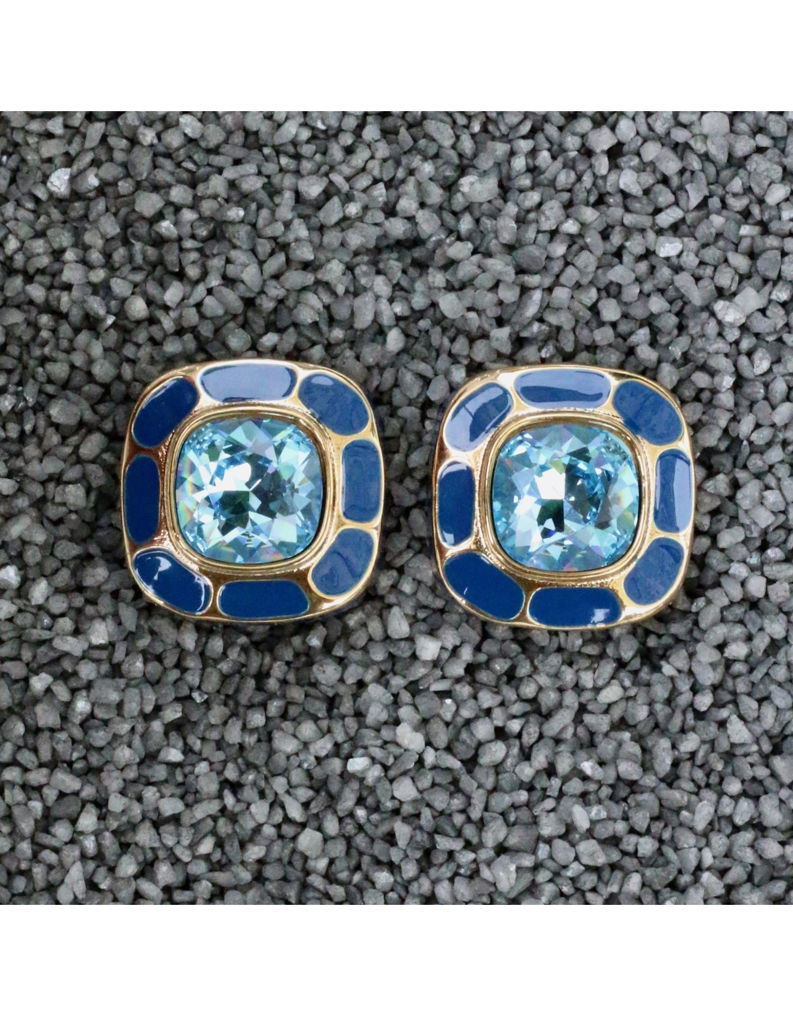 VC Italy VCExclusives: Square in Square Aquamarine & Blue