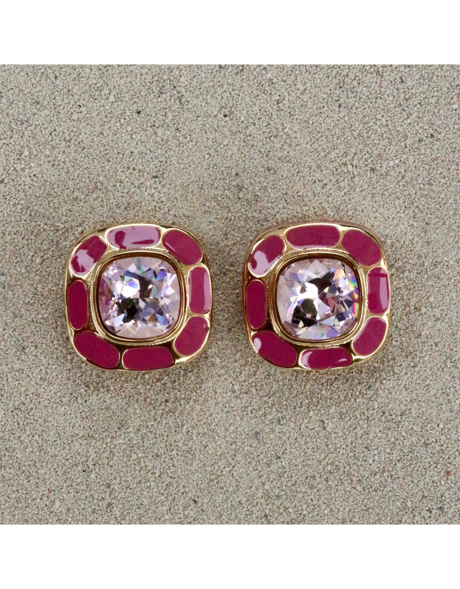 VC Italy VCExclusives: Square in Square Light Amethyst