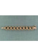 VC Italy M Trap Gold Link Bracelet