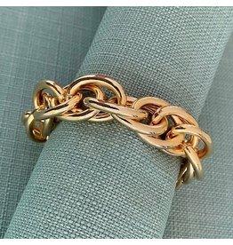 VC Italy Gold Link Bracelet