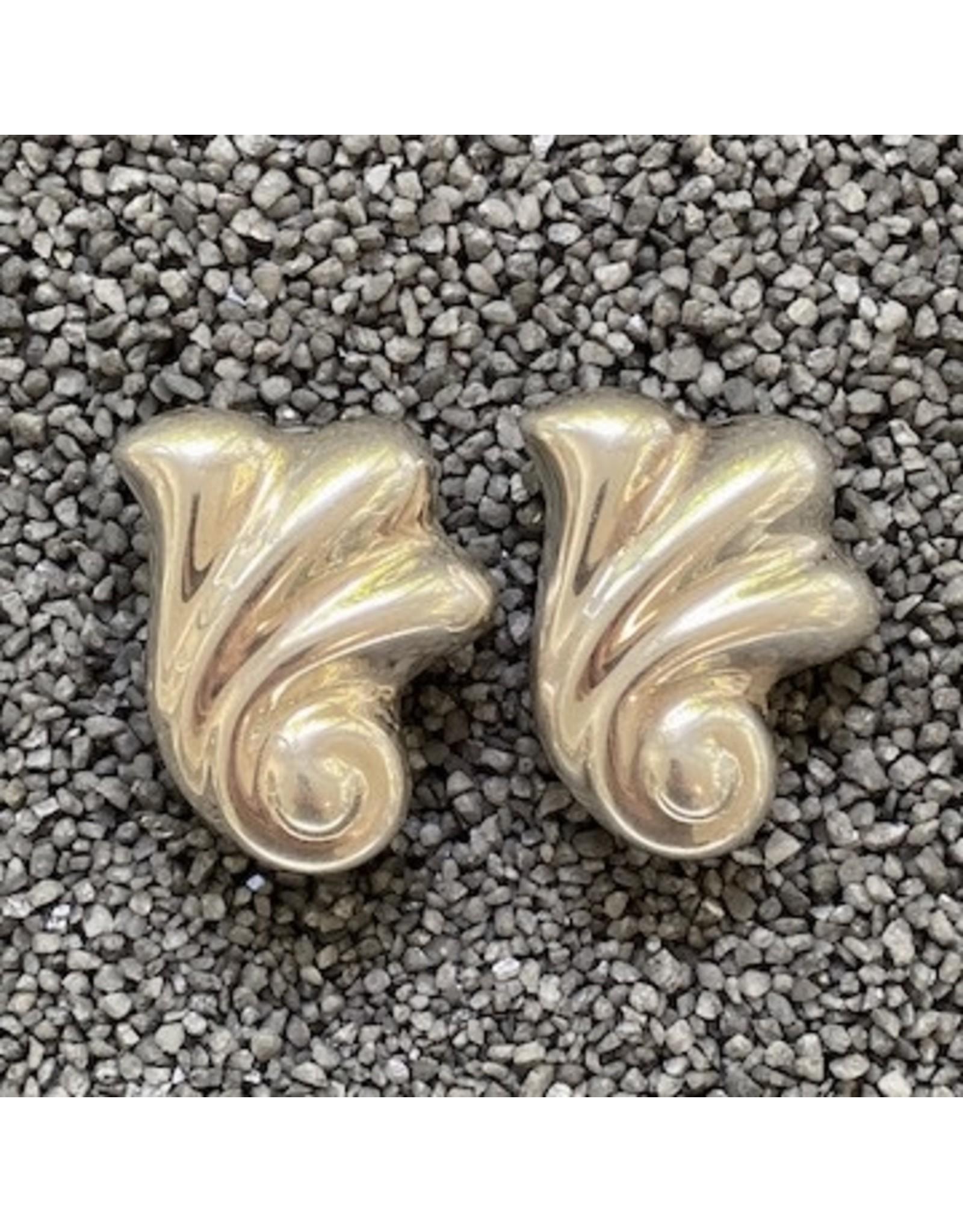 Piero Guidi Silver Clip Earring
