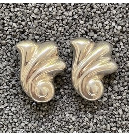 Piero Guidi Silver Clip Earring