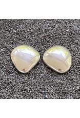 Simon Sebbag Designs Large Smooth Silver Pebble Clip Earring