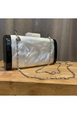 Sea Lily Mother of Pearl Clutch