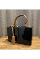 Sea Lily Black w/ Leather Handle