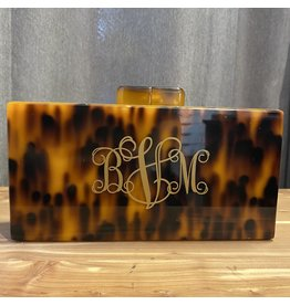 Sea Lily Tortose Clutch Monogram