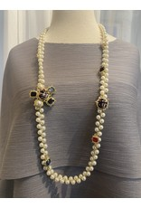 VC Exclusives Gold and Pearl with Brooch