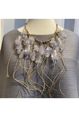 Teresa Goodall trg/nk811be/blue/resin/beads/linen/cord/earth/