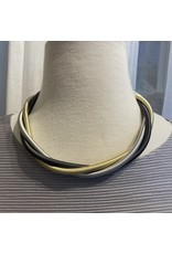 Sea Lily sea/301MIX/3strand/wire/twist/silver/gunmetal/gold/