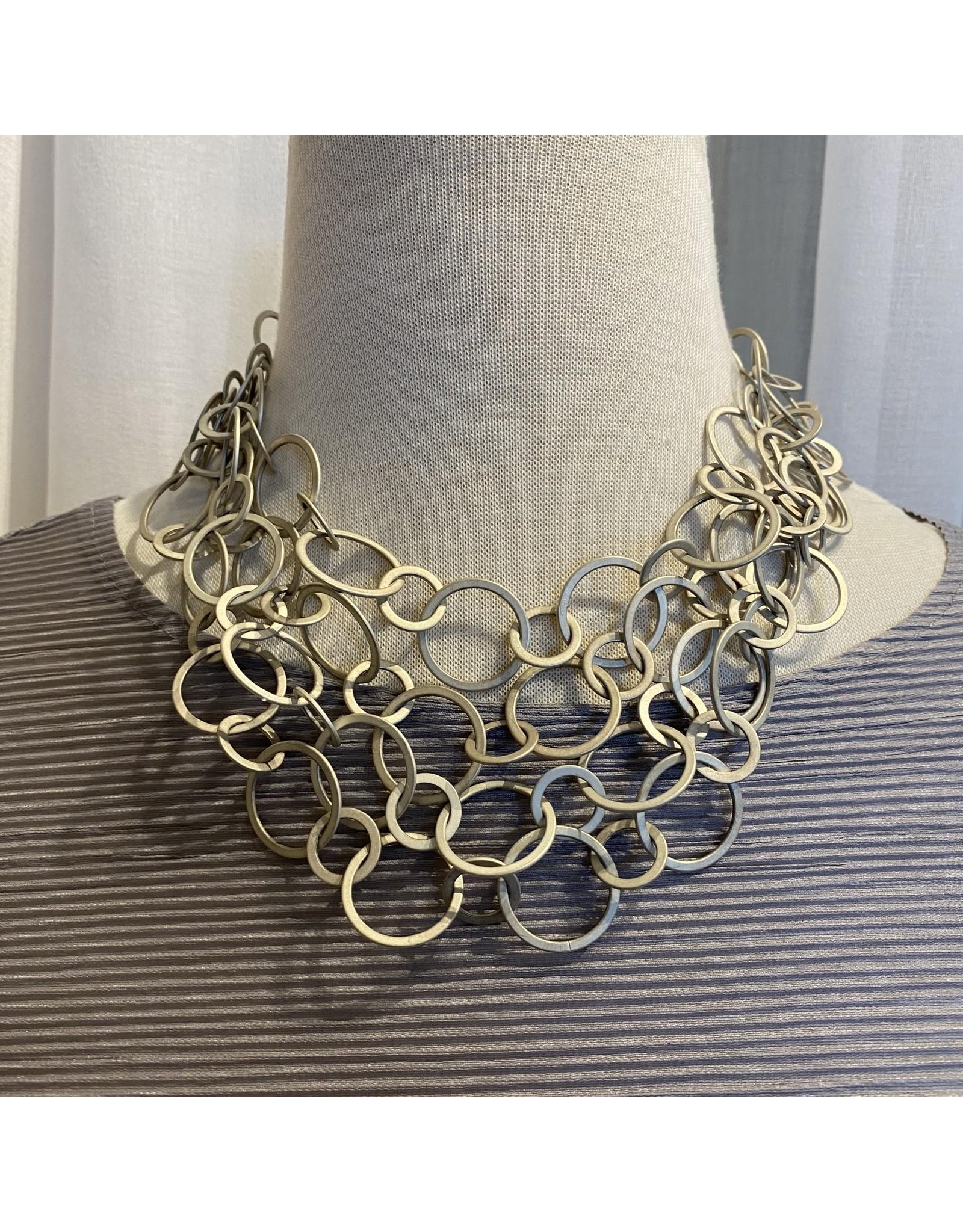 Deborah Grivas Design Matte Circle Chain