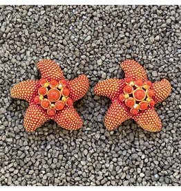 Jose & Maria Barrera Co., Ltd. bar/hr639/red/starfish