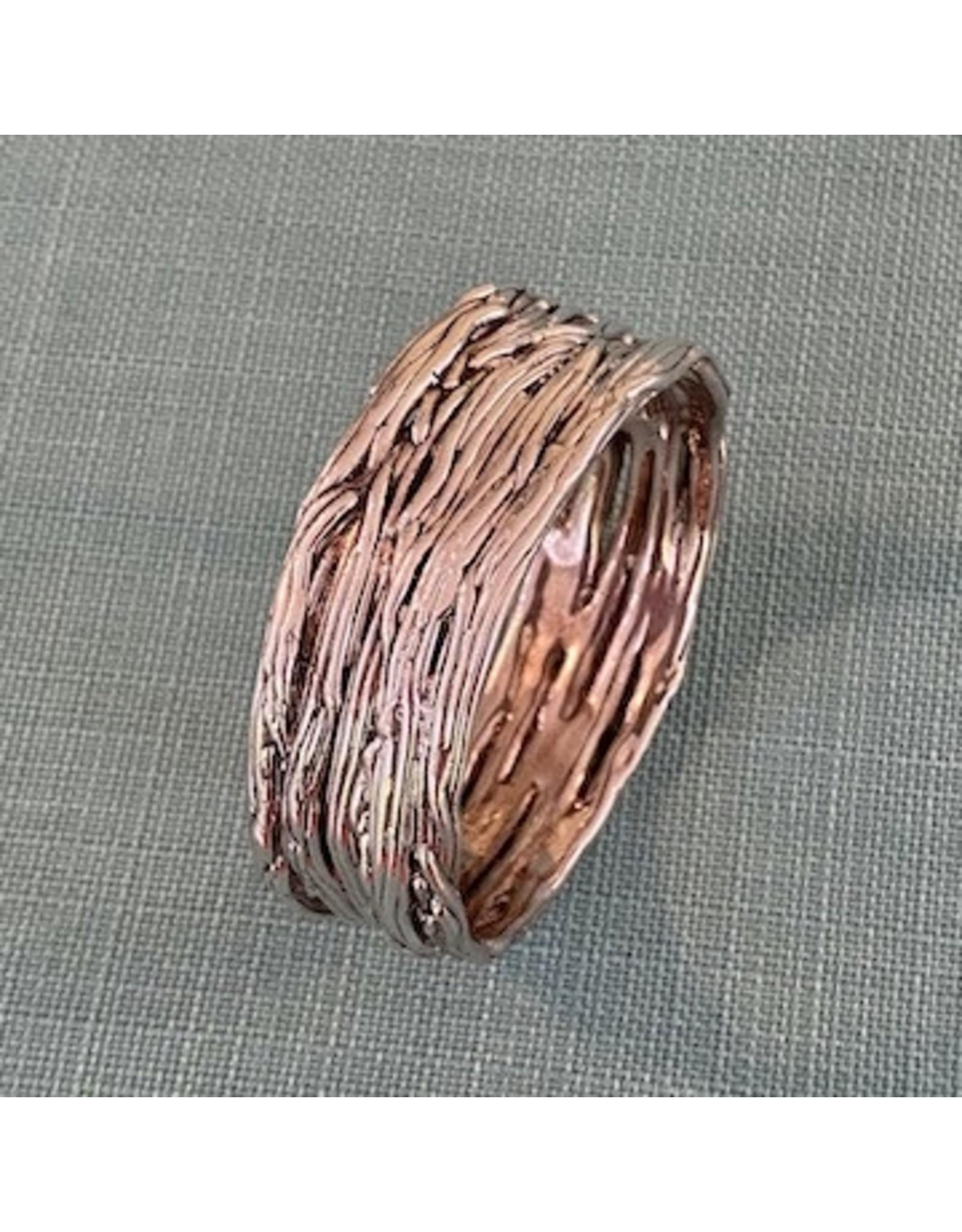 VC Exclusives Silver Textured Bracelet