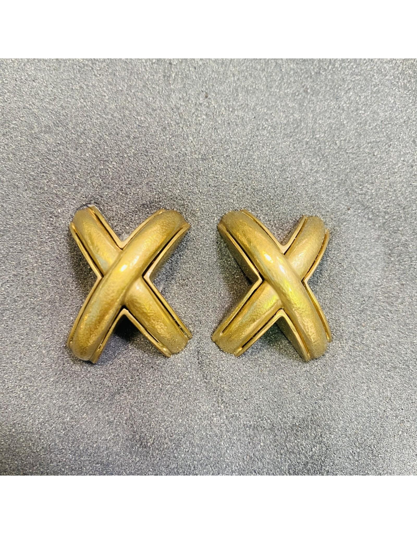 Vaubel X Gold Clip Earring